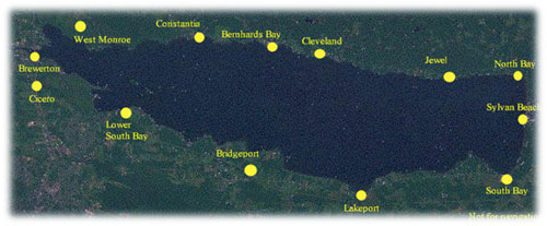 Lake Oneida Map